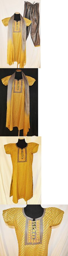 Kurta 155248: Nwt 3Pc Pathani Suit Indian Pakistani Kurta Payjama Pajama Tunic Bollywood Xl -> BUY IT NOW ONLY: $58.56 on eBay!