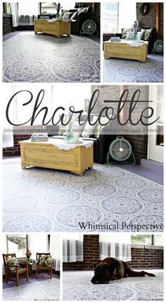 1000 Images About Flooring Ideas On Pinterest Stenciled