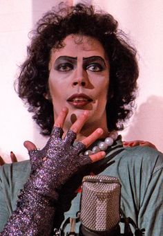 Tim Curry as Dr. Frank N Furter in The Rocky Horror Picture Show Tim Curry Rocky Horror, Rocky Horror Show, The Rocky Horror Picture Show, Susan Sarandon, 1975, Science Fiction, Comedy Central, 20th Century Fox, Illustrations