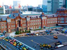 Miniaturized -Tokyo Station