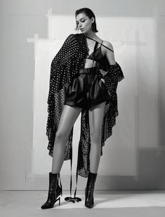 Photography: Jean-Baptiste Mondino. Fashion Editor: Babeth Djian. Hair: Odile Gilbert. Makeup: Tom Pecheux. Model: Charlee Fraser.