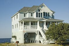 SAIL STATION - 4 bedrooms, 3.1 baths on the Buxton sound front