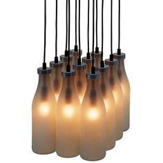 Droog design Melkflessen lamp #dutch_design