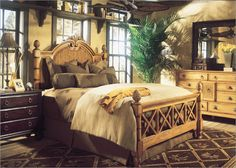 I like parts of this bedroom quite a bit British Colonial Bedroom, British Colonial Style, French Colonial, Geek Furniture, Home Furniture, Tropical Interior, Cozy Corner, Bedroom Decor, Master Bedroom