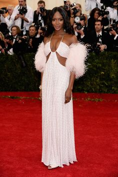 Naomi Campbell in Givenchy @ The Met Gala 2014