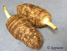 taro root kolokassi