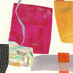 Under the Radar #6 by Jane Davies Jane Davies, Painting Patterns, Resin Art, Collage, Shapes, Fashion, Abstract, Moda, Collages