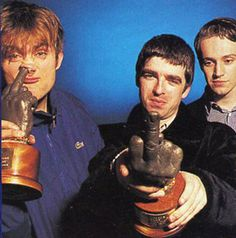 Damon Albarn, Noel Gallagher & Martin Rossiter at the 1995 Brats, Vox Magazine. Music Mix, Music Love, Noel Gallagher Young, Blur Band, Oasis Band, Liam And Noel, Tom Odell, Things To Do With Boys, Damon Albarn