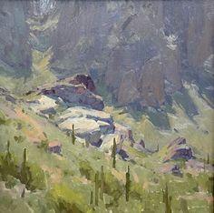 Midday by Bill Cramer Oil ~ 16 x 16