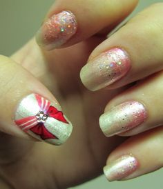 I must find out how to do this! The link says it was done by hand with a paint brush. Damn my unsteady hands!