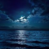 Moon Over Water - Download From Over 53 Million High Quality Stock Photos, Images, Vectors. Sign up for FREE today. Image: 8162541