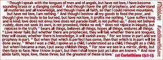 #ThisIsLove #LetsShareHisLove #1stCorinthians13