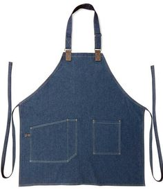 Constructed from 8 oz. Sewn Leather details on straps and side pocket with contrast stitching for the ultimate urban and modern look. Denim aprons are designed Jean Crafts, Denim Crafts, Sewing Aprons, Denim Aprons, Jean Apron, Denim Ideas, Bib Apron, Best Running Shoes, Old Jeans