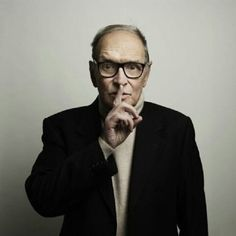 Ennio Morricone, my favorite composer of all time. Brilliance embodied.