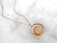 Nesting Opal Necklace