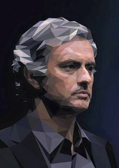 Jose Mourinho (The Special One) by Miles Monaghan Chelsea Fc Wallpaper, Soccer Poster, Football Posters, Football Icon, Football Art, Caricatures, Cristiano Ronaldo Juventus, The Special One, Manchester United Football
