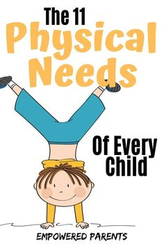 The early childhood years are crucial for healthy development and learning. Learn the basic physical needs of children and why movement is so important for your kids. Physical Activities For Kids, Early Learning Activities, Gross Motor Activities, Kids Learning, Child Development Stages, Physical Development, Mindful Parenting, Kids And Parenting, Parenting Tips