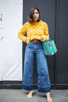 Die besten Streetstyle-Looks der London Fashion Week Spring 2018 - Londoner Mode Looks Street Style, Street Style Trends, Spring Street Style, Looks Style, Street Style London, London Street Fashion, London Look, Spring Style, Milan Fashion