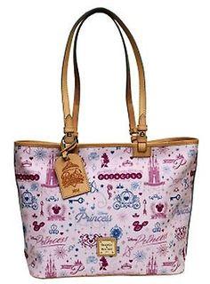 New Disney Dooney & Bourke 2014 RunDisney Princess Marathon Tote Purse Hand Bag