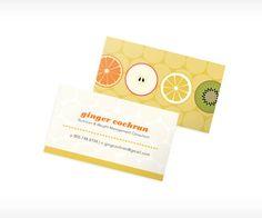 Resultado de imagen para personal cards nutritions
