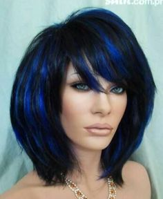 Love these blue highlights! Gotta get some!