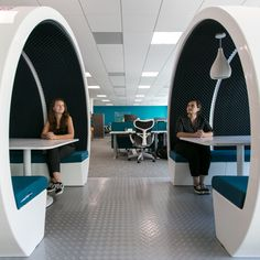 The Meeting Pod 4 person is a distinctive collection of office meeting pods shaped as circles and loops. The pod family can come as a two. Outdoor Seating, Outdoor Dining, Office Pods, Startup Office, Outdoor Office, Modular Design, Office Interiors, The Office, Glass Door
