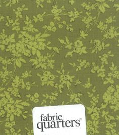 Fabric Quarters Fabric Assorted Green, , hi-res