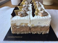 Cake Recept, Sweet Desserts, Tiramisu, Sweet Tooth, Cheesecake, Food And Drink, Treats, Minis, Baking