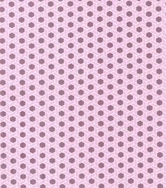 Buttercream™ Elizabeth Collection Cotton Fabric-Pink Grid
