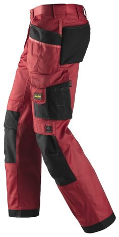 Extremely hard-wearing work trousers made in dirt repellent DuraTwill fabric. Features an advanced cut with Twisted Leg™ design, Cordura® reinforcements for extra durability and a range of pockets, including phone compartment. Mens Tactical Pants, Tactical Wear, Mens Work Pants, Work Trousers, Workwear Fashion, Mens Fashion, Snickers Workwear, Work Wear, Range