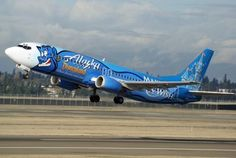 "Together with the ""Make-a-wish"" foundation Air Alaska decorated an aircraft with Genie from the Disney movie Aladdin. Alaska Airlines supported the foundation by taking children to places they wished to travel."