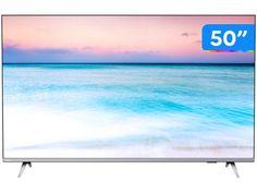 "Smart TV 4K LED 50"" UHD Philips 50PUG6654/78 Wi-Fi - Bluetooth 3 HDMI 2 USB Bordas Ultrafinas - Magazine Bicicletascia Wi Fi, Bluetooth, Usb, Smart Tv Philips, Apple Brasil, Smart Tv 4k, Tv Videos, Smartphone, Recife"