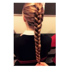 Hybrid braid   braids   Pinterest   Hair style  Hair goals and Super     Beautiful long ombre blonde French braid  So gorgeous   I love it  Wish