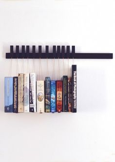 Large Wenge Book Rack by Agustav