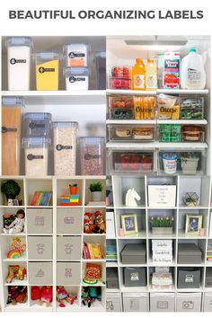 Get organized with beautiful custom labels for your home. Watch full tutorial. Freezer Organization, Organizing Labels, Organizing Tips, Closet Organization, Daisy Cottage Cheese, Berry Punch, Riced Veggies, Custom Labels, Easy Projects