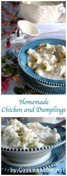 Cooking with K - Southern Kitchen Happenings: Aunt Max's Old Fashioned Homemade Chicken and Dumplings
