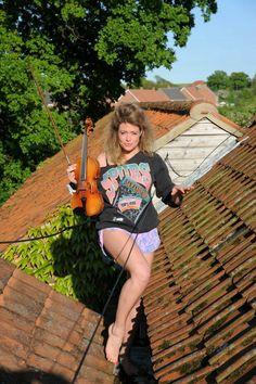Violinist Lettice Rowbotham
