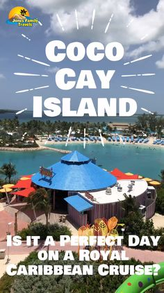 """The newest port of call on a cruise is called Coco Cay. Is this new island a """"Perfect Day at Coco Cay? Crucero Royal Caribbean, Royal Caribbean Oasis, Cruise Tips Royal Caribbean, Caribbean Honeymoon, Honeymoon Cruise, Bahamas Cruise, Oasis Cruise, Carnival Cruise Bahamas, Cruises"""