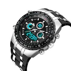 $89.95 -- Click image for more details. (This is an affiliate link) #MenWatches