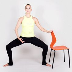 MARCH 25, 2015 | BY LOCKE HUGHES The 15-Minute Barre Workout You Can Do at Home | Horse Pose @greatist
