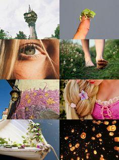 "Disney Heroine Aesthetics // Rapunzel ""All at once everything is different, now that I see you. "" Pocahontas | Esmeralda | Mulan | Jasmine | Megara | Merida | Kida | Aurora | Lilo | Alice | Tinker Bell | Snow White | Ariel | Tiana | Cinderella | Jane..."