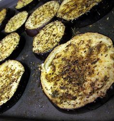 Roasted Eggplant - Why did I wait so long to try this out?!