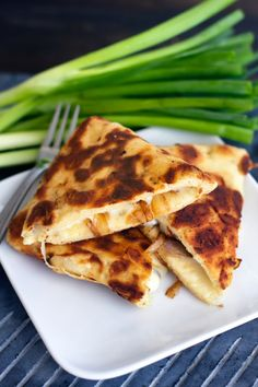 Carmelized Onion and Fontina Naan Quesadillas (1)