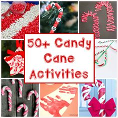 So Much Pepperminty Goodness with 50+ Candy Cane Activities for Kids