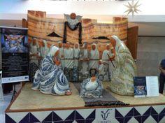 La Epifanía de Jesús obra escultórica en talavera de Uriarte