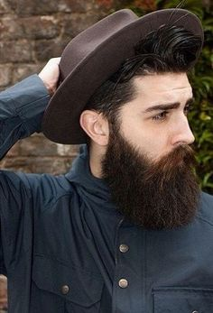 Beat Beard with Hair style