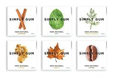 Simply Gum 100% Natural Chewing Gum Assorted Flavors (Mint, Ginger, Cinnamon, Maple, Fennel, Coffee) - 6 Packs Simply Gum http://www.amazon.com/dp/B00KGH8S0G/ref=cm_sw_r_pi_dp_dSPuvb0VVDV82