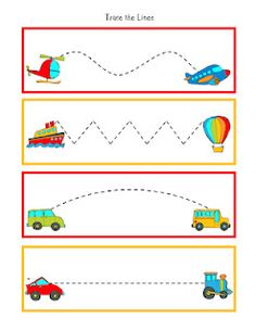 tracing lines- lots of cute printables- some for free and others are $ ...