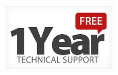 Enjoy One year #free #technical #support to FATbit Technologies #Custom #ecommerce #packages
