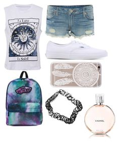 """""""Andt"""" by andyytorress on Polyvore featuring True Religion, Vans, Urban Renewal and Chanel"""
